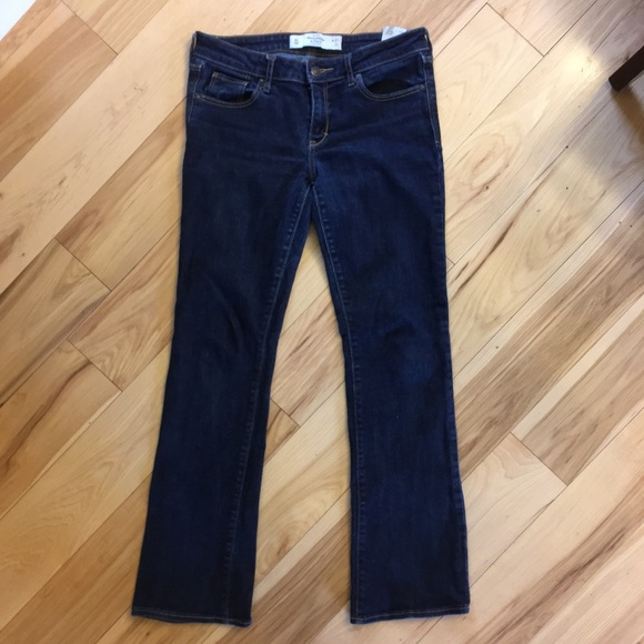"""Abercrombie & Fitch """"The A&F Boot"""" jeans"""